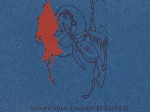 Accumulations d'acariâtres acariens